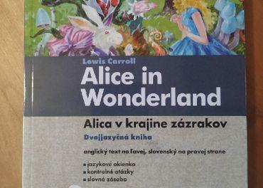 Alica v krajine zazrakov, dvojjazycna kniha s CD
