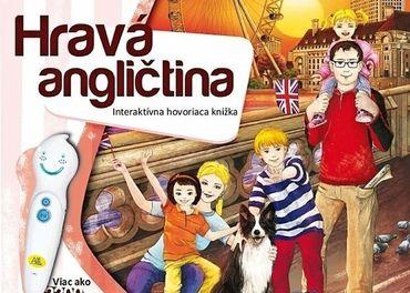 Predám interaktívnu knihu- Hravá angličtina