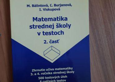 Matemiatika strednej školy v testoch 2. časť