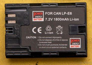 Power Energy batérie kompatibilné s Can LP-E6