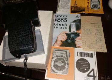 Expozimeter Leningrad ,nový, fotoaparat starožitnosť.