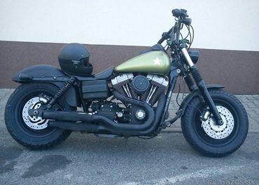 Harley Davidson Fat Bob 2010