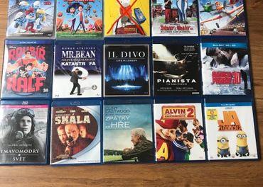 Blu ray - Filmy, Rozprávky, hudba