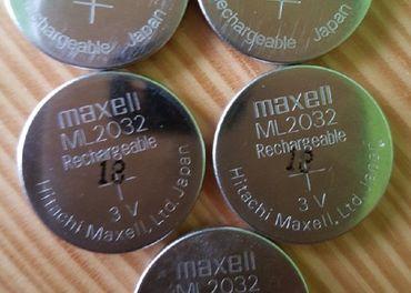 Nabíjatelné batérie Maxell ML2032