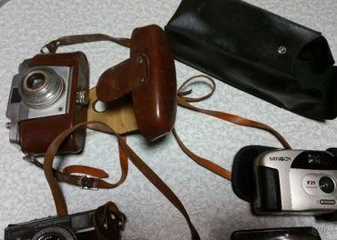 Stare fotoaparaty a blesk