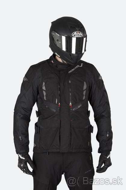 Macna Vosges BLACK L motorkárska bunda TOURING/ENDURO