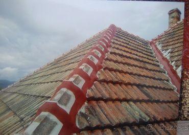 Vymazavanie korytok oprava komínov
