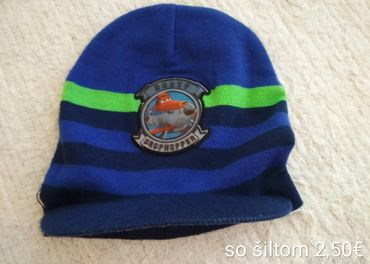 chlapčenské čiapky /104-116