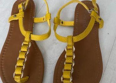 Dánske sandálky