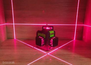 Predám červený 3D 12 liniovy laser aj s prímačom