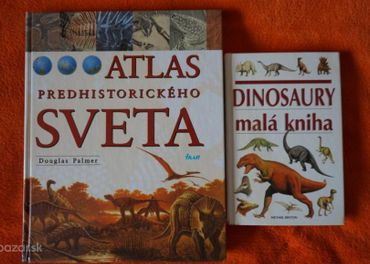 Atlas predhistorického sveta Dinosaury malá kniha