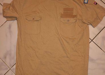 Vojenské púštne tričká