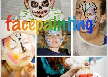 maľovanie na tvár  - facepainting