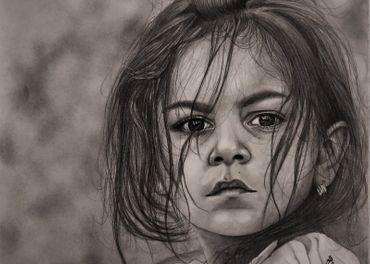 Kresba - Kreslenie portrétov - deti