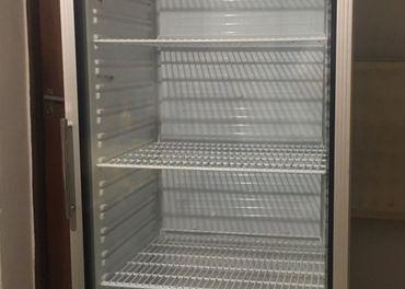 Chladnička presklená vitrinova