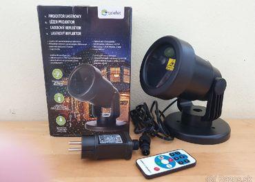 Laserový vianočný projektor