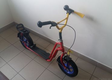 Predam detsku kolobezku puky 12 kolesa. Zo sedadlom. Dovoz