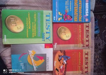 Matematika, slovenčina testy, tabuľky, fyzika