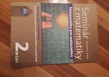 Seminár z matematiky 2