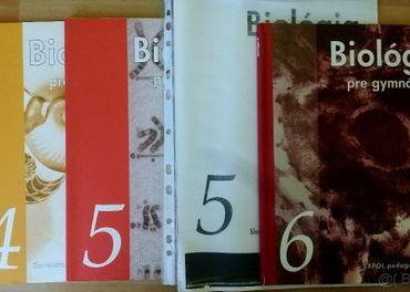 Biologia pre gymnazia 1,2,3,4,5,6
