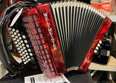 Predám novú diatonickú harmoniku/ Heligónku Weltmeister Club