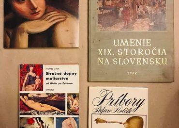 4 výborné knižky zo sveta umenia