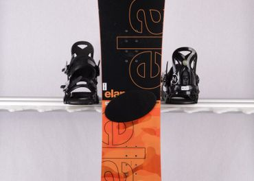140 cm ELAN EXPLORE ROCKER 2018, black/orange, TOP stav