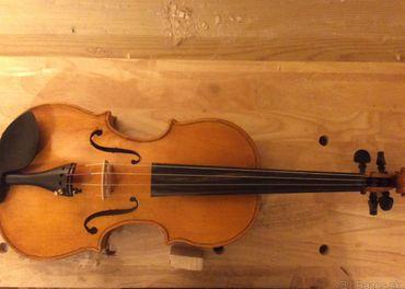 Predám celé české husle