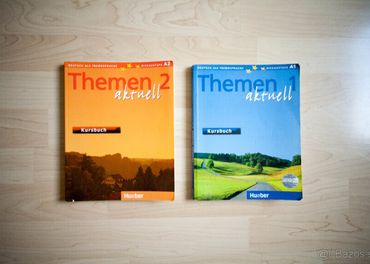Themen 1 aktuell a Themen 2 aktuell(Učebnica)