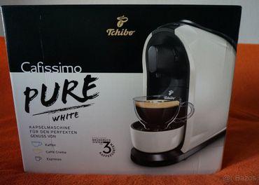 NOVÝ Tchibo Cafissimo PURE White biely kávovar