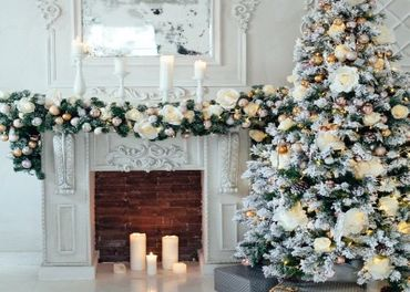 vianocne platno 2,5x2,5m