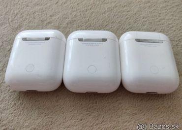 Apple AirPod originálne,  bluetooth slúchadlá, zanovne...