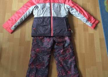 detská lyžiarska súprava 146-152