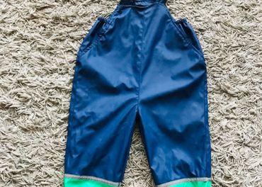 predám nohavice do dažďa 80/86