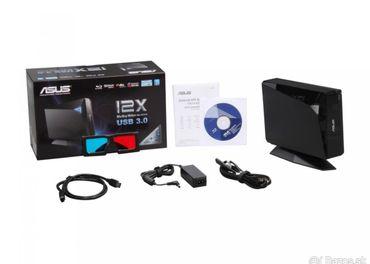 Asus externá napaľovačka BD-RW, formát Blu-ray, DVD a CD