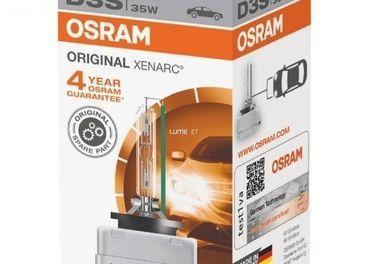 OEM Osram Original Xenarc D1S,D2S,D2R,D3S,D4S,D5S + darcek