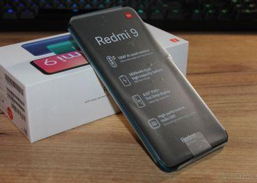 Predám XIAOMI REDMI 9 3GB/32GB, GREEN, TOP, ZARUKA SK 2R