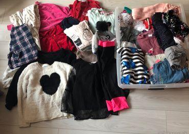 Balík oblečenia pre dievča 10-12 rokov