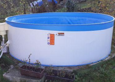 Predám Bazén 3m priemer kruh