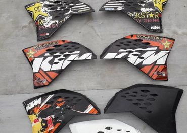 Plasty na nádrž KTM SX/EXC 07-11