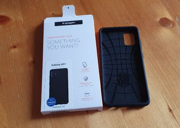 Spigen Liquid Air Black Samsung Galaxy A51