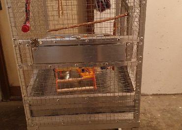 Klietka pre stredné papagáje