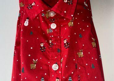 Chlapcenska vianocna kosela H&M velkost 122 (6-7 rokov)
