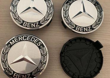Stredové krytky - puklicky diskov Mercedes Benz Top Kvalita