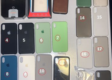 Iphone X / iphone XS kryty, obaly