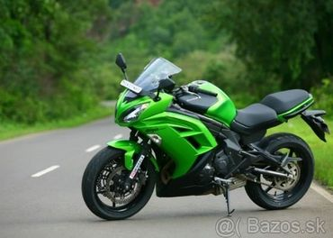 Predám Kawasaki ER6F r.v 2012 53kw v TP naj. 21000km