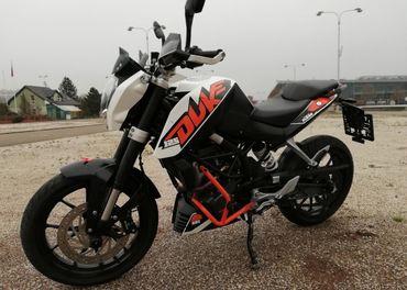 KTM 125 DUKE ABS, 2013 naj. 12000 km