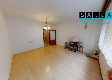 Útulný 2 izbový byt v Senci, 47 m2 + veľká pivnica 12 m2,  v