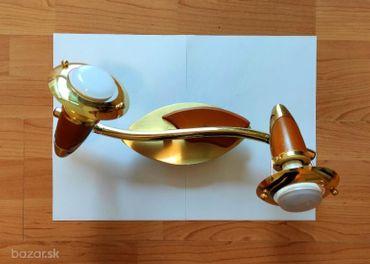 Zlatý a strieborný luster