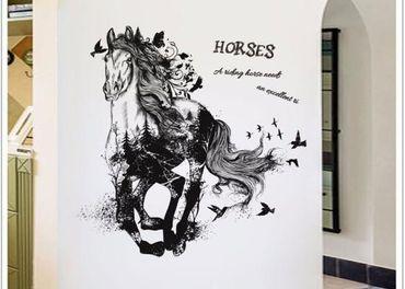 Dekoracne nalepky kon a ine zvieratka